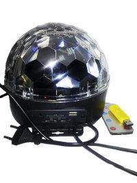 Проектор полусфера MP3+пульт 0316
