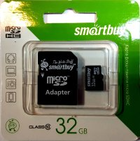 Micro SD 32GB Smart Buy Class 10